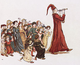 Pied_Piper by Kate Greenaway